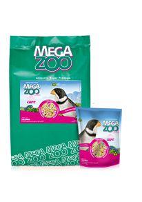 Ração Megazoo Mix  Coleiros com Vitacare - 350g e 8kg