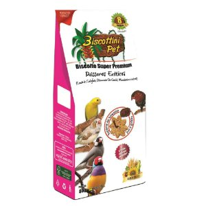 Biscoito Biscottini Pet Super Premium Pássaros Exóticos