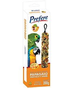 Prefere Bastão Frutas Papagaio, Maritaca e Arara 200g