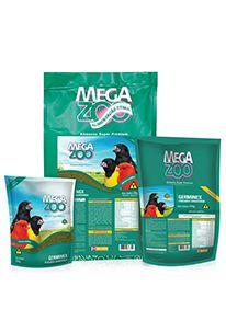 Ração Megazoo Germinex - 350g e 5kg