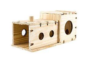 Locomochila - Brinquedo para chinchila e furão