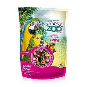 Mistura de Sementes Megazoo Mix Papagaio Tropical - 700g e 6kg