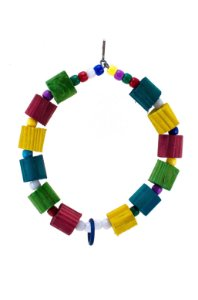 Pêndulo em argola colorido