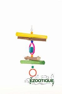 Brinquedo em pêndulo simples