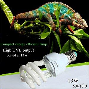 Lâmpada UV-B 5.0 e 10.0 - 13W - 110v/220v