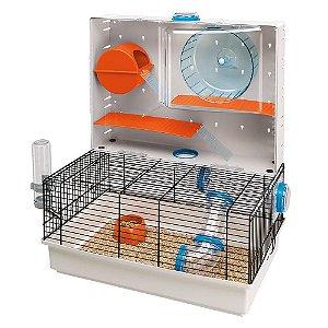 Gaiola Olimpia - Super Luxo! Ferplast para Hamster