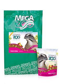 Megazoo Trinca Ferro Frutas - 350g e 5kg