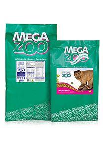 Ração Megazoo Primatas com Tendências Herbívoras P18 - 4kg e 12kg
