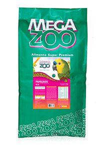 Ração Extrusada Megazoo Papagaio Reprodução AR 20 12kg