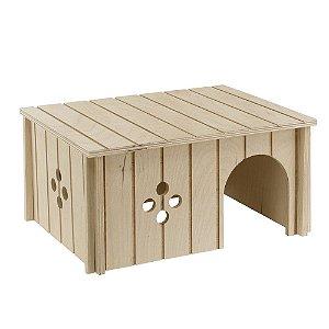 Toca para pequenos animais, feita de madeira. Sin4646 Ferplast