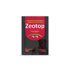 Zeotop Adsorvente de Toxinas/ Sachê Unitário e Caixa