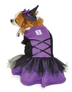 Vestido Bruxinha Halloween