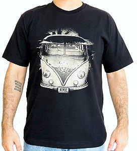 Camiseta Masculina Kombi Preta