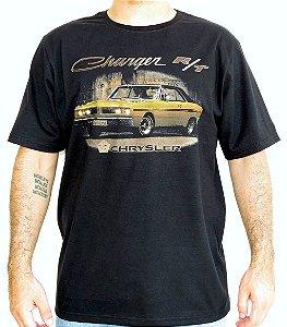 Camiseta Masculina Dodge Charger RT Preta