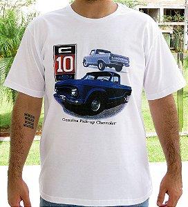 Camiseta Masculina C 10 Branca