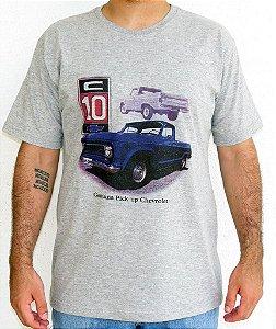 Camiseta Masculina C 10 Mescla