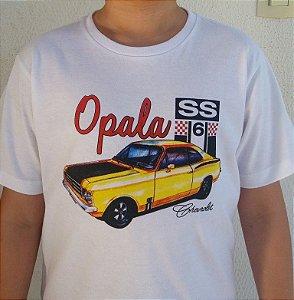 Camiseta Infantil Opala Branca