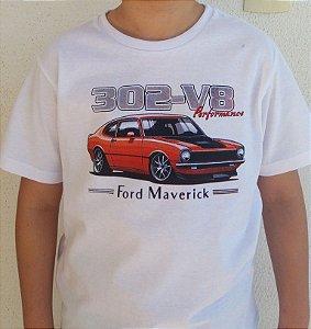 Camiseta Infantil Maverick Branca