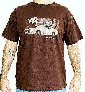 Camiseta Masculina Puma GTB Marrom