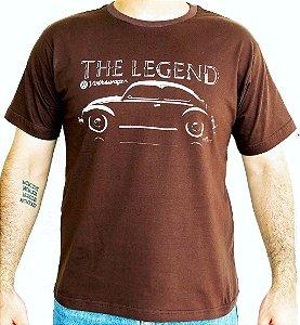 Camiseta Masculina Fusca Legend Marrom