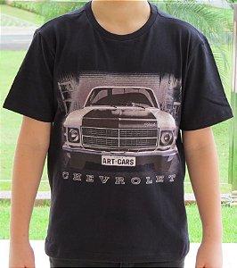 Camiseta Infantil Opala Caravan Preta