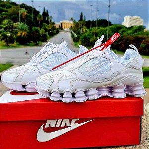 Tênis Nike Shox 12 Molas TL 2021  - Branco