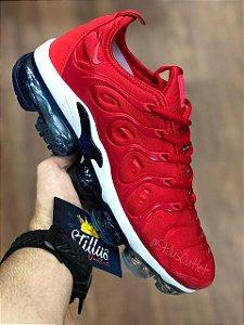 Tênis Nike Air Vapormax Plus - Vermelho/Azul