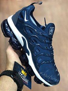 Tênis Nike Air Vapormax Plus - Azul/Branco