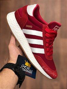 Adidas iniki - Vermelho