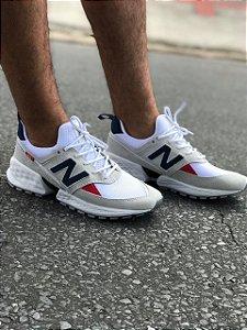 Tênis Nb - Branco/azul