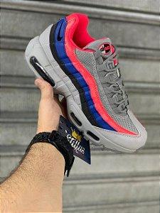 Tênis Nike Air max  95 - Cinza/ Pêssego