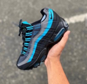 Tênis Nike Air max  95 - Preto/Azul