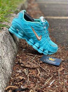 Tênis Nike Shox TL - Azul