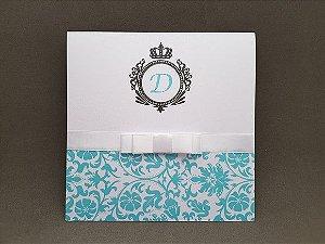 Convite debutante perolado Tiffany