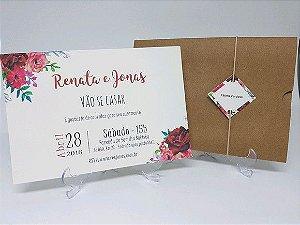 Marsala Rustico - floral