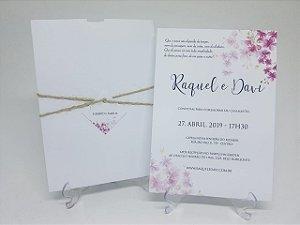 Convite cerejeira floral