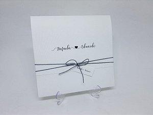 Convite casamento nomes noivos
