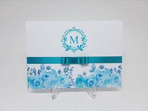 Convite 15 anos tiffany flores