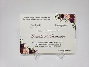 Convite para casamento Oferta Barato