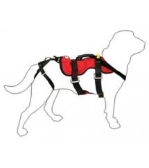 Cadeirinha de rapel para cães