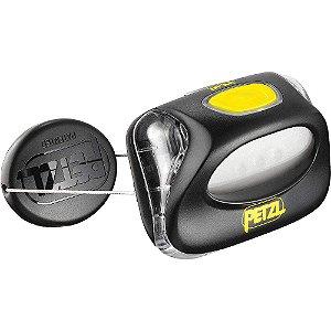 Lanterna Petzl - Zipka preto/amarelo