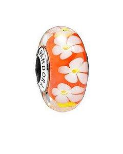 Charm Murano Flores Tropicais