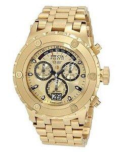 Relógio Invicta Reserve Chronograph Gold Dial