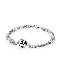 Bracelete de Prata de Lei