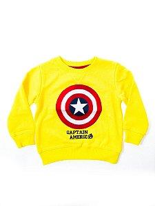 Moletom Infantil GAP Capitão América