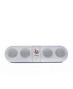 Caixa De Som Bluetooth Branco Pill Beats