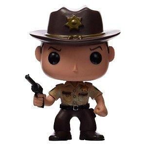 Boneco Pop Rick - The Walking Dead FPOP