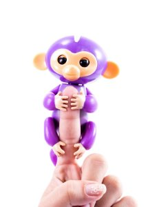 Macaquinho Fingerlings Roxo