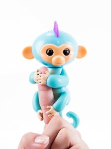 Macaquinho Fingerlings Azul Claro