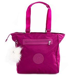 Bolsa De Ombro Kipling Shoulder Bag Fúcsia